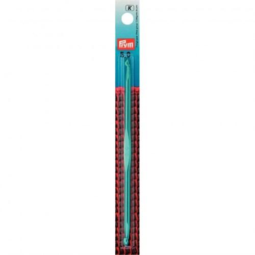 Prym 5 Mm 15 Cm Mavi Alüminyum İki Ucu Gagalı Şiş Tunus Tığı - 195276