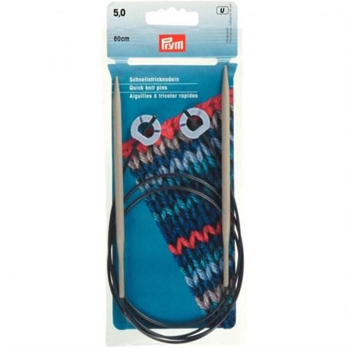 Prym 5 Mm 60 Cm Esnek Misinalı Hızlı Örme Şişi - 218920