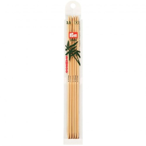 Prym 3,5 Mm 20 Cm Bambu 5'Li Çorap Şişi - 221213