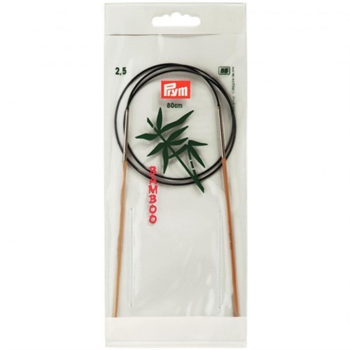 Prym 2,5 Mm 80 Cm Bambu Misinalı Şiş- 221503