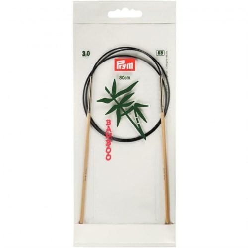 Prym 3 Mm 80 Cm Bambu Misinalı Şiş - 221504