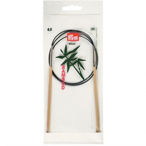 Prym 4 Mm 80 Cm Bambu Misinalı Şiş - 221506