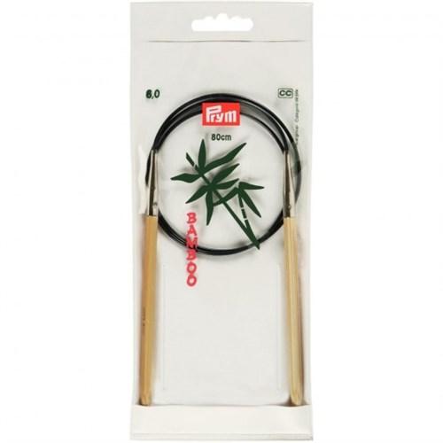Prym 6 Mm 80 Cm Bambu Misinalı Şiş - 221510