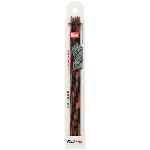 Prym Kübik 3,5 Mm 20 Cm Gül Ağacı 5'Li Çorap Şişi - 224143