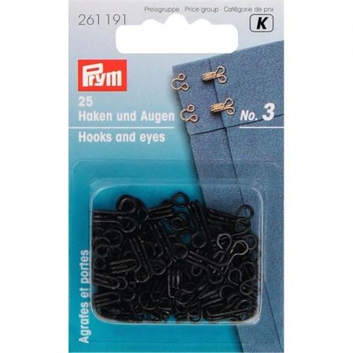 Prym 3 Numara Çelik Agraf Kopça - 261191
