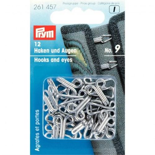 Prym 9 Numara Çelik Deri Agraf Kopça - 261457