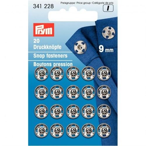 Prym 9 Mm 20 Set Metal Çıt Çıt - 341228
