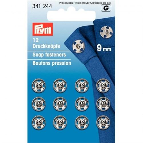 Prym 9 Mm 12 Set Metal Çıt Çıt - 341244