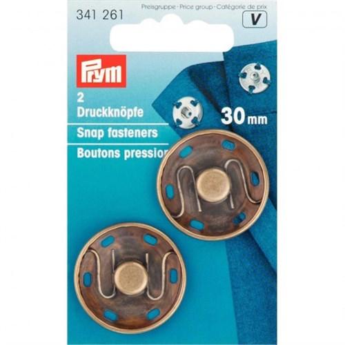 Prym 30 Mm 2 Parça Metal Çıt Çıt - 341260