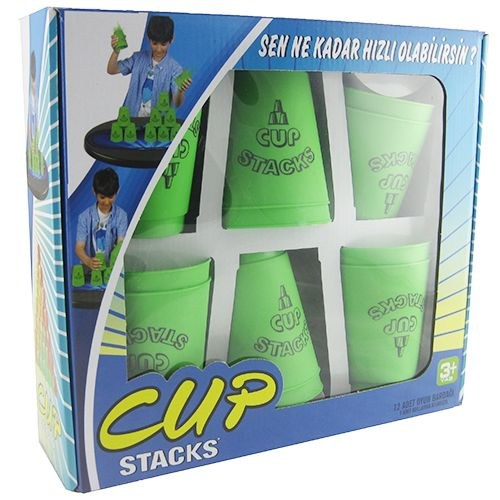 Cup Stags 12 Li Dizilim Sporu Bardak Seti Yeşil