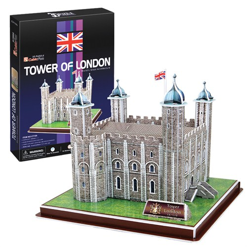 Cubic Fun Tower of London (3D Puzzle)