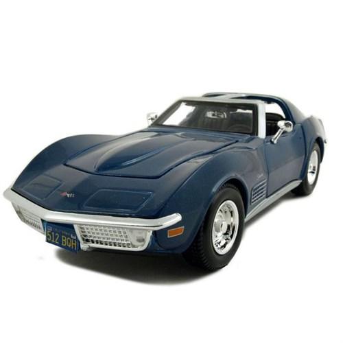 Maisto Chevrolet Corvette 1970 1:24 Model Araba S/E Mavi