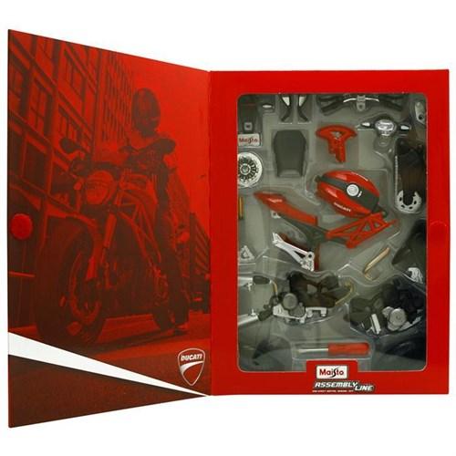 Maisto 1:12 Ducati Monster 696 2011 Maket Kit Motosiklet