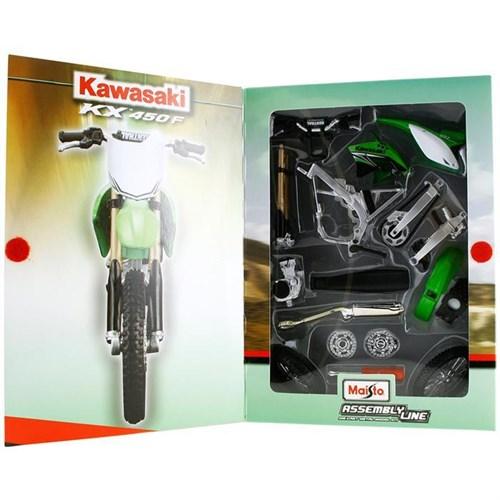 Maisto 1:12 Kawasaki Kx 450F Model Maket Kit Motosiklet