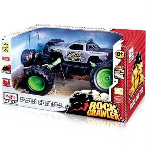 Maisto Tech Rock Crawler U/K Araba Gri