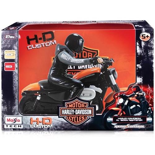 Maisto Tech H-D Xl1200 Nightster Uzaktan Kumandalı Motosiklet Kırmızı