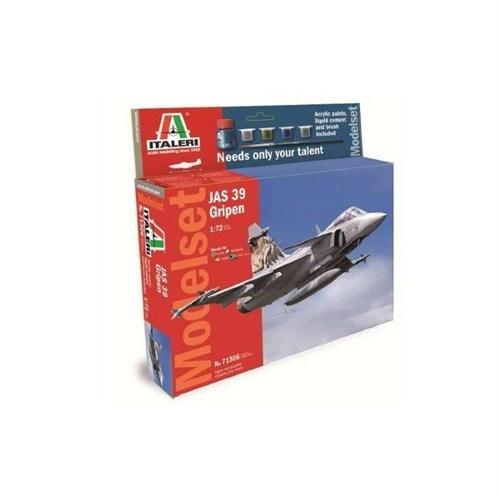 Italeri 1:72 Jas 39 Gripen Model Set 71306