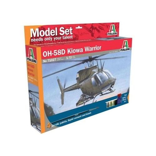 Italerı 1:72 Ah 58D Kiowa Warrior 71027