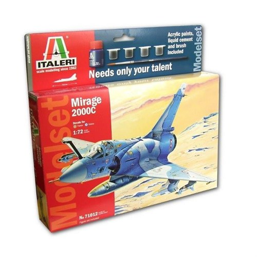 Italeri 1:72 Mirage 2000 C Model Set 71012