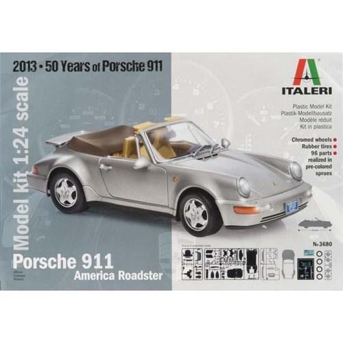 Italeri Porsche 911 America Roadster 3680S