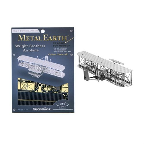 Metal Earth Wright Brothers Airplane Mms042