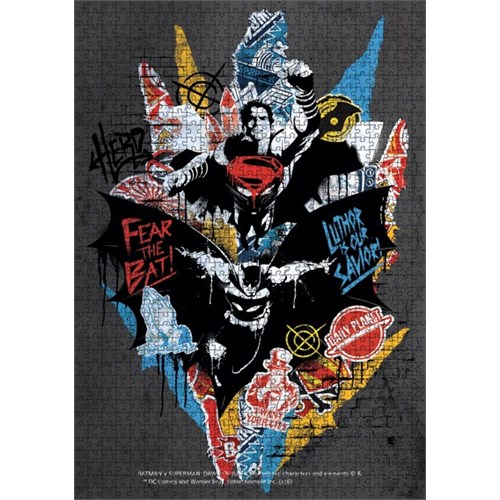 Batman V Superman Puzzle 1000 Parça