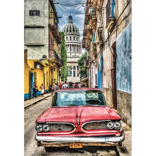 Educa Vıntage Car In Old Havana