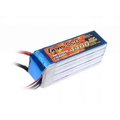 Gens Ace 4400Mah 22.2V 35C 6S1p Lipo Lipo Batarya