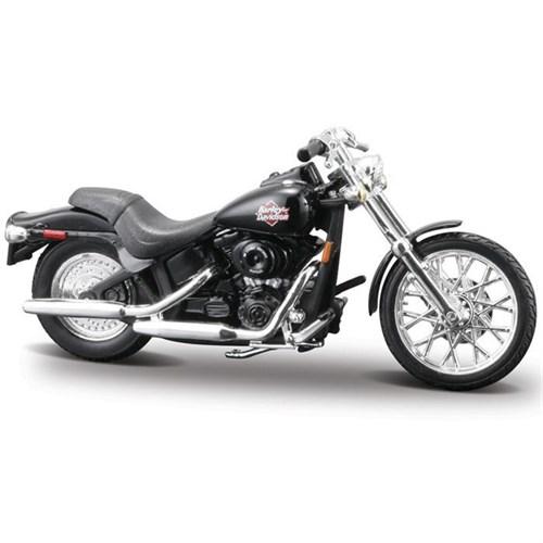Maisto 1:24 Harley Davidson 2002 Fxstb Night T. Motosiklet