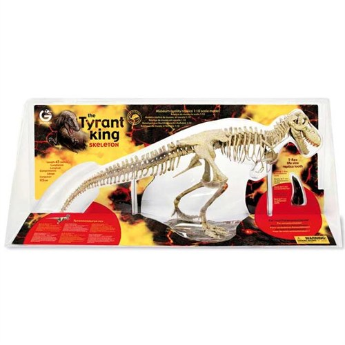 Geoworld Tyrant King Display T-Rex Iskelet Cl164k