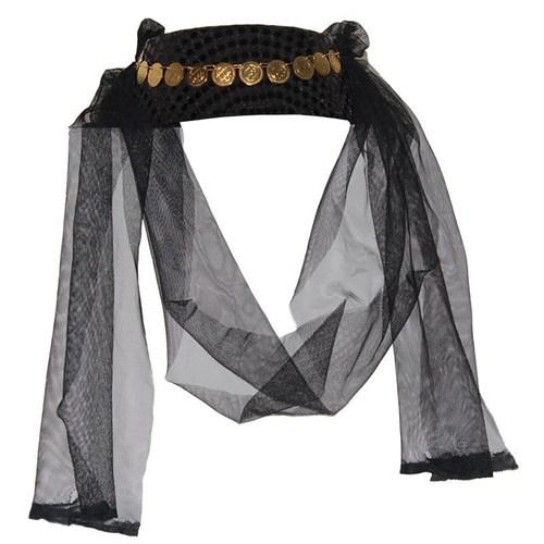 Pandoli Siyah Renk Pullu Fes