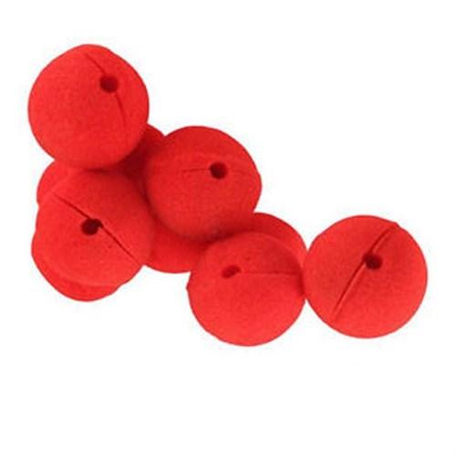 Pandoli Sünger Palyaço Burnu Kırmızı Renk 10 Adet