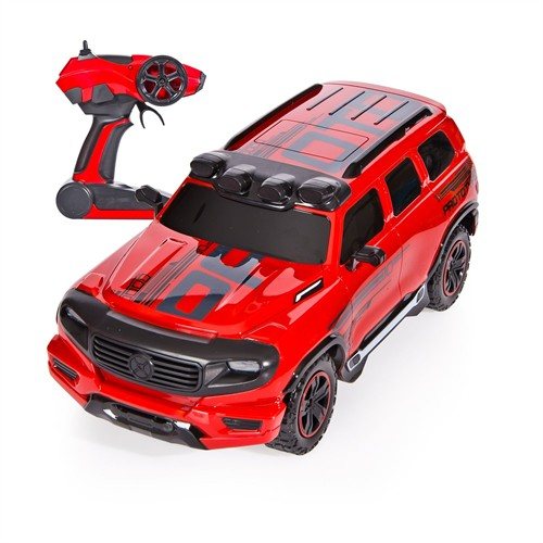 Vardem City Technology Şarjlı Cross Jeep 1:12 Kırmızı