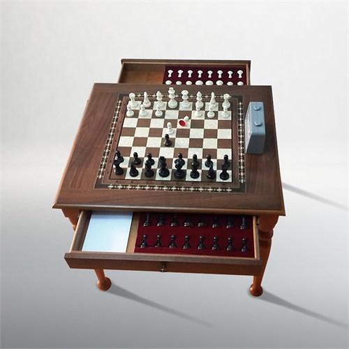 Yeni Satranç Ahşap Satranç Masası