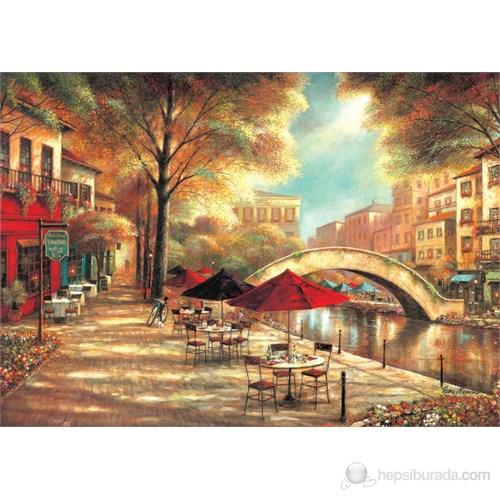 Ks Games 500 Parça Puzzle Riverwalk Cafe