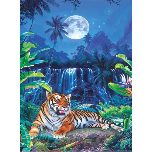 Masterpieces 500 Parça Neon Puzzle Eyes Of The Tiger