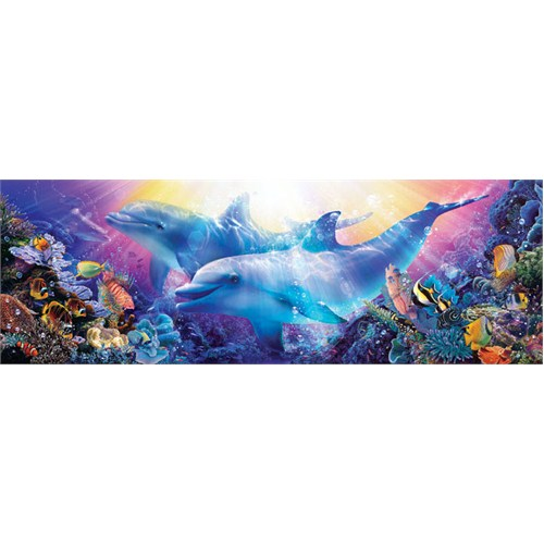 Masterpieces 1000 Parça Panoramik Puzzle Believe The Dream