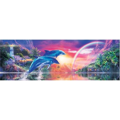 Masterpieces 1000 Parça Panoramik Puzzle Earthly Paradise