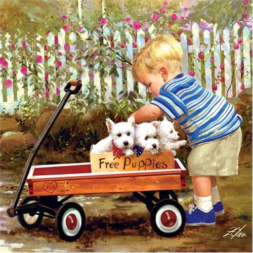 Masterpieces 1000 Parça Puzzle Puppy Love