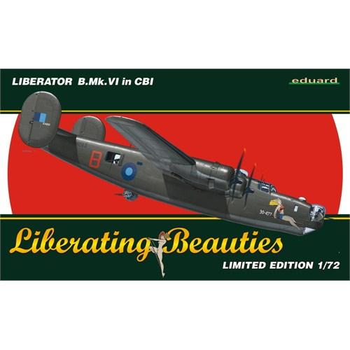 Liberator B.Mk.VI In CBI (ölçek 1:72)