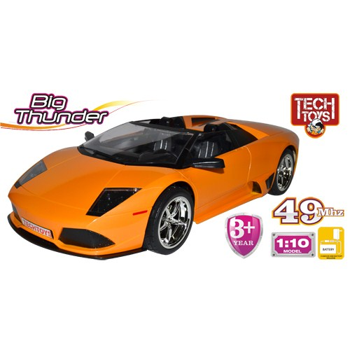 Techtoys Big Thunder 1/10 43 cm Kumandalı Araba Sarı