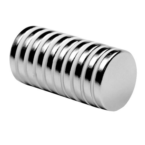 Neodyum Mıknatıs Silindir D20x3 mm (10'lu Paket)