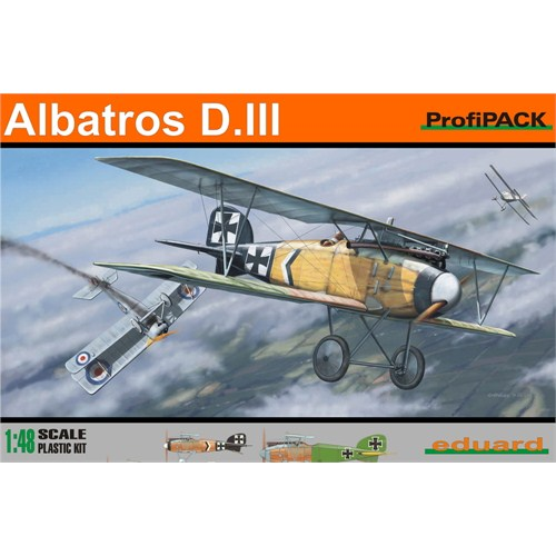 Albatros D.III Profipack (ölçek 1:48)