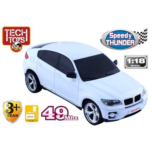Techtoys Speddy Thunder 1/18 21 cm Kumandalı Araba BB Beyaz