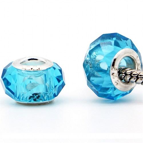 Angemiel Kristal Mavi Murano Charm İle Kendi Tarzını Yarat