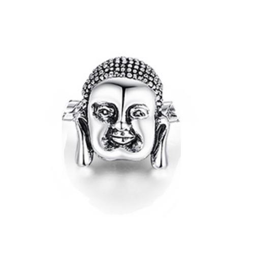 Angemiel Buddha Gümüş Kaplama Charm İle Kendi Tarzını Yarat