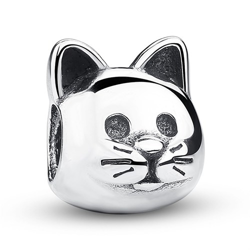 Angemiel Kedi Gümüş Kaplama Charm İle Kendi Tarzını Yarat