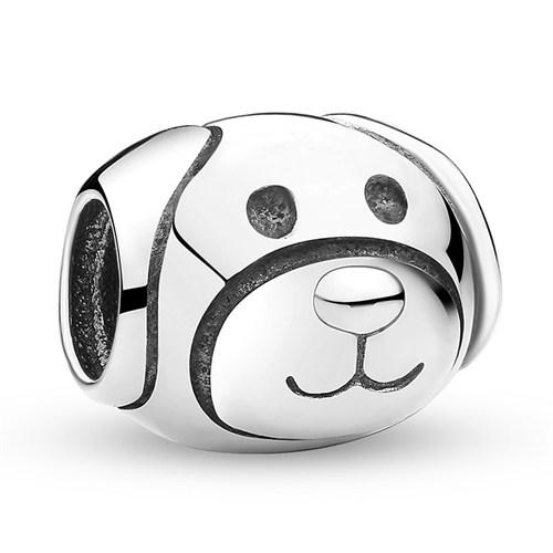 Angemiel Köpek Gümüş Kaplama Charm İle Kendi Tarzını Yarat