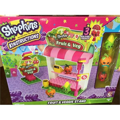 Shopkins Kinstructions Fruit&Veggie Stand Lego Seti