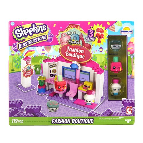Shopkins Kinstructions Fashion Boutique Lego Seti